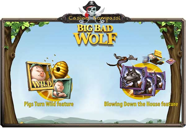 Big Bad Wolf bonukset
