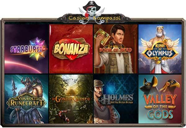 Kaboo Casino kolikkopelit