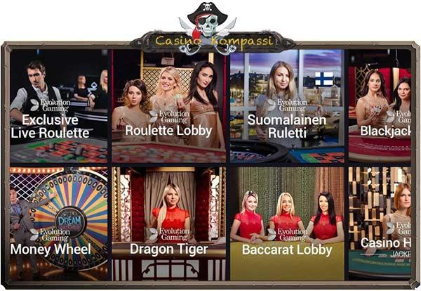 Maria Casino live
