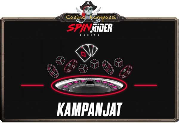 Spin Rider kampanjat