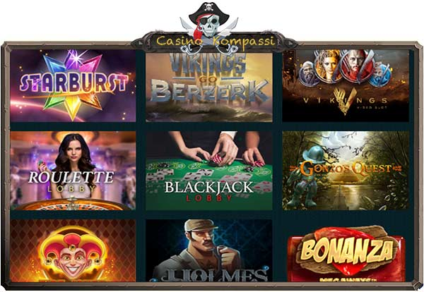 Spela casino pelivalikoima