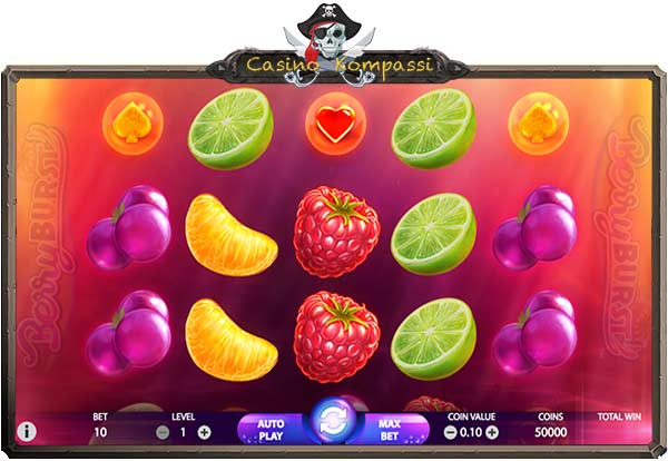 berryburst hedelmäpeli