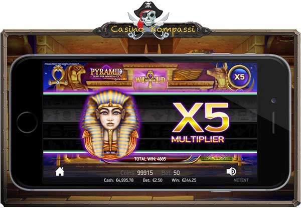 Pyramid: Quest for Immortality bonuskierrokset