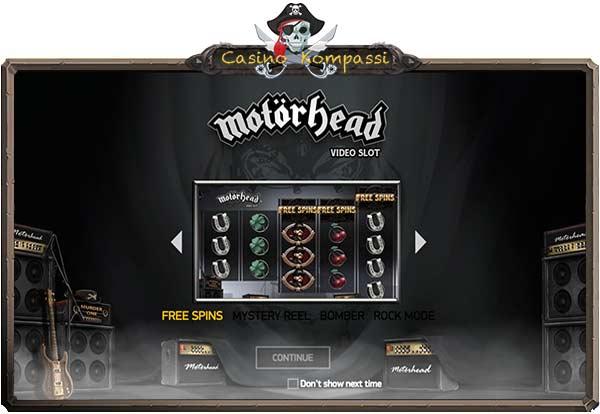 Motörhead videoslot