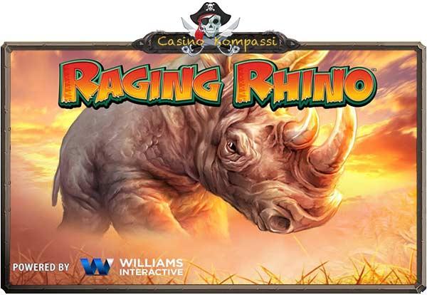 Raging Rhino hedelmäpeli