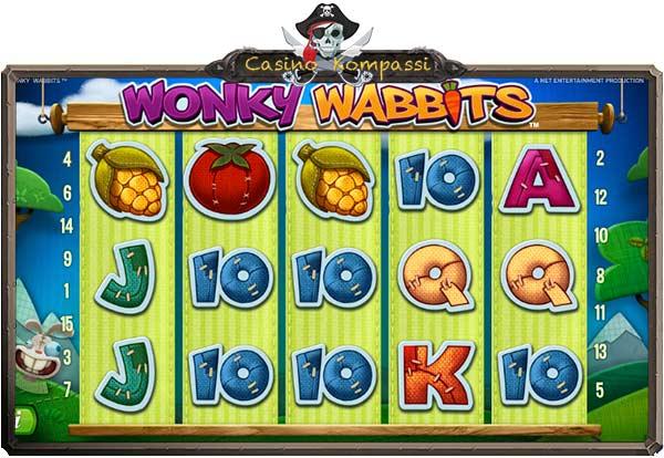 Wonky Wabbits pelaaminen
