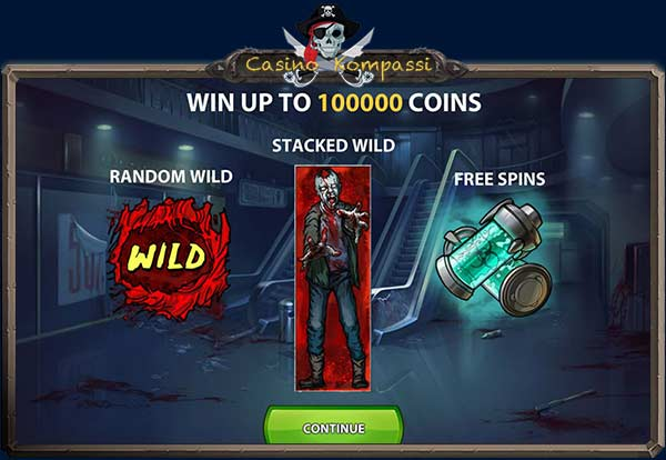Zombies freespins ja wilds