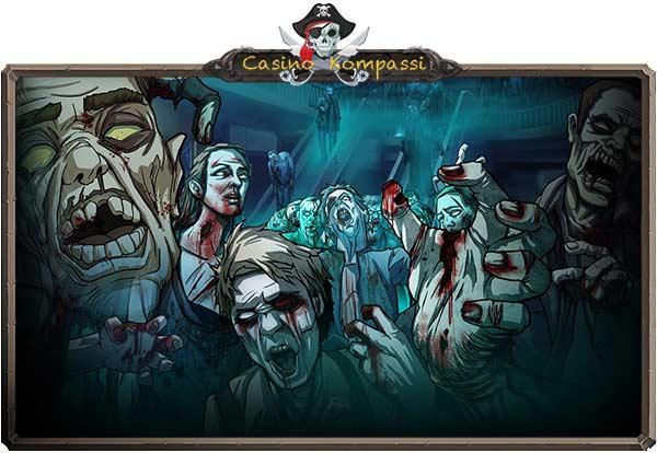 Zombies kolikkopeli mobiilissa