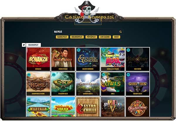 No Account Casino rahapelit