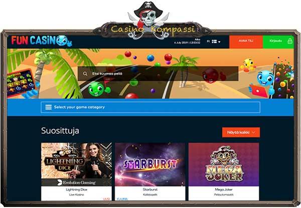 Fun casino on hauska nettikasino